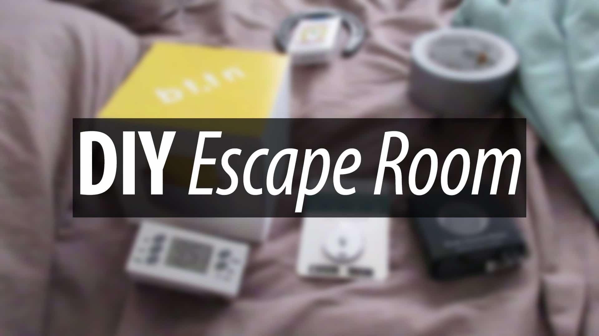 escape room za doma