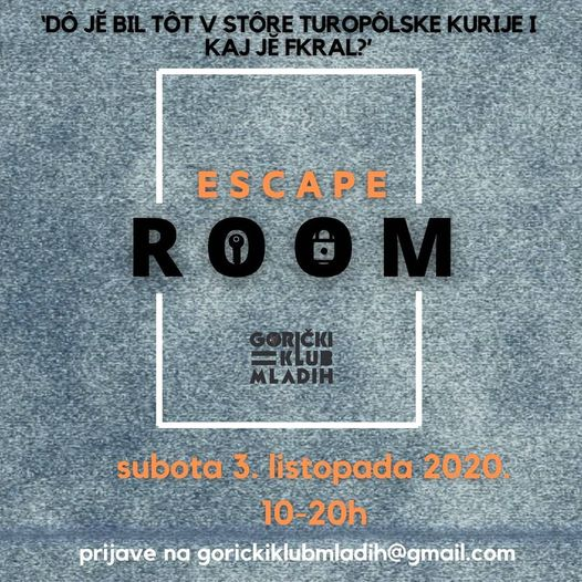 escape room velika gorica