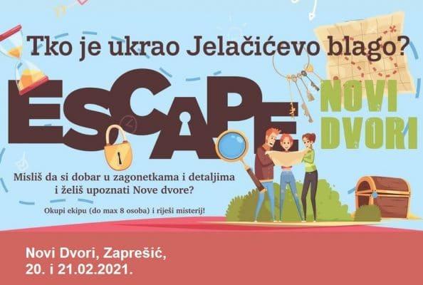 Escape Novi Dvori – Tko je ukrao Jelačićevo blago?
